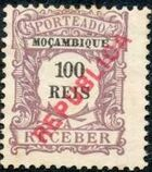 Mozambique 1916 Postage Stamps from 1904 Overprinted REPUBLICA g