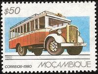 Mozambique 1980 Public Transportation in Mozambique a