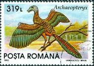Romania 1993 Dinosaurs f