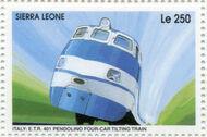 Sierra Leone 1995 Railways of the World 3b