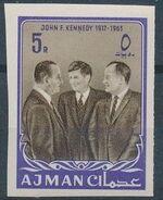 Ajman 1964 President Kennedy o