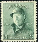 Belgium 1919 King Albert in Trench Helmet c