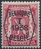 Belgium 1938 Coat of Arms - Precancel (1st Group) c