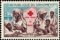 Dahomey 1962 Red Cross a
