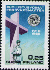 Finland 1968 50th Anniversary of the Finnish Army b