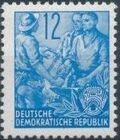 Germany DDR 1953 Workers For The Five-year Plan f