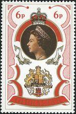 Gibraltar 1977 25th Anniversary of Queen Elizabeth Regency a