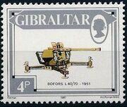 Gibraltar 1987 Guns and Artillery d