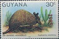 Guyana 1985 Wildlife (Overprinted 1985) g
