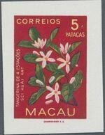 Macao 1953 Indigenous Flowers ja