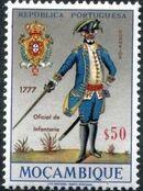 Mozambique 1967 Military Uniforms d