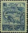Nicaragua 1896 Map of Nicaragua i