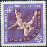 Romania 1963 9th Winter Olympic Games in Innsbruck d