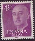 Spain 1955 General Franco f