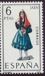 Spain 1969 Regional Costumes Issue b