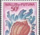Wallis and Futuna 1963 Sea Shells
