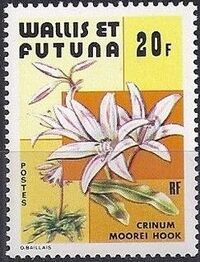 Wallis and Futuna 1979 Flowers a