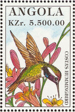 Angola 1996 Hummingbirds d