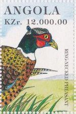 Angola 1996 Hunting Birds m