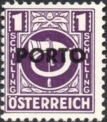Austria 1946 Occupation Stamps of the Allied Military Government Overprinted in Black m