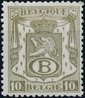 Belgium 1946 Coat of Arms - Official Stamps a