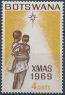 Botswana 1969 Christmas c