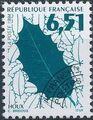 France 1994 Leaves - Precanceled d.jpg