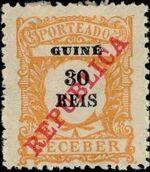 Guinea, Portuguese 1911 Postage Due Stamps d