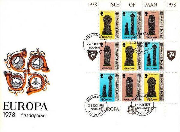 Isle of Man 1978 Europa q