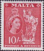 Malta 1956 Elizabeth II p