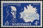 Martinique 1945 Victor Schoelcher n