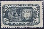 Mexico 1956 Centenary of Mexico's 1st Postage Stamps (Air Post Stamps) a