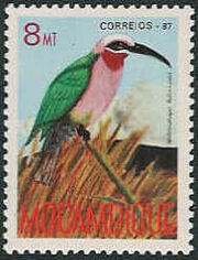 Mozambique 1987 Birds of Moçambique (Third Issue) c