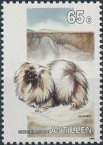 Netherlands Antilles 1993 Dogs a