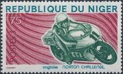 Niger 1976 Motorcycles a