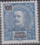 Ponta Delgada 1897 D. Carlos I SPj