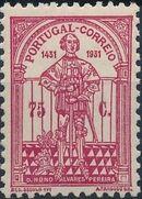 Portugal 1931 5th Centenary of the Death of St. Nuno Álvares Pereira d