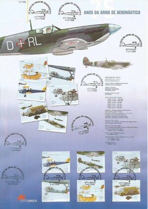 Portugal 1999 75th Anniversary of Portuguese Air Force m