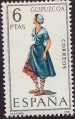 Spain 1968 Regional Costumes Issue j