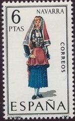 Spain 1969 Regional Costumes Issue j