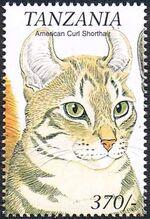 Tanzania 1999 Cats of the World b