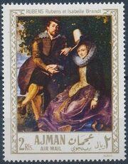 Ajman 1968 Paintings f