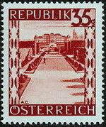 Austria 1946 Landscapes (II) i