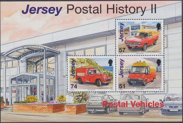 Jersey 2006 Postal History II - Postal Vehicles g