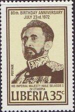 Liberia 1972 80th birthday of Emperor Haile Selassie c