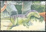 Mozambique 2002 Dinosaurs o