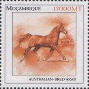 Mozambique 2002 The Wonderful World of Horses e