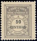 Mozambique Company 1916 Postage Due Stamps j