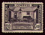 Portugal 1925 Birth Centenary of Camilo Castelo Branco j