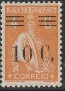 Portugal 1928 Ceres Surcharged e